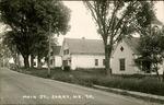 Main St, Surry, Maine Postcard