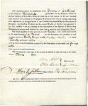 1819 Maine Constitutional Election Returns: Castine