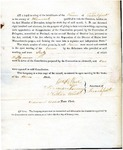 1819 Maine Constitutional Election Returns: Frankfort