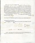 1819 Maine Constitutional Election Returns: Surry