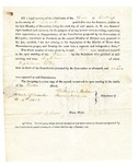 1819 Maine Constitutional Election Returns: Cushing