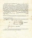 1819 Maine Constitutional Election Returns: Bowdoinham
