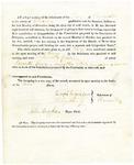 1819 Maine Constitutional Election Returns: Thomaston