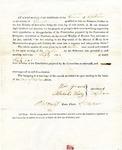 1819 Maine Constitutional Election Returns: Topsham
