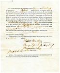1819 Maine Constitutional Election Returns: Fryeburg