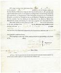 1819 Maine Constitutional Election Returns: Paris