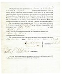 1819 Maine Constitutional Election Returns: Waterford