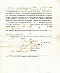 1819 Maine Constitutional Election Returns: Dixmont