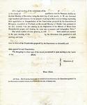 1819 Maine Constitutional Election Returns: Newburgh