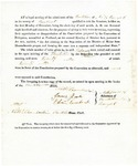 1819 Maine Constitutional Election Returns: Plantation No. 3 in 6th Range
