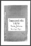 1870 General Election: Congressional Votes by Bureau of Corporations, Elections and Commissions