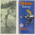 Maine Fishing, 1925 by Maine Development Commission