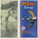 Maine Fishing, 1925