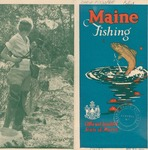 Maine Fishing, 1928 by Maine Development Commission