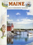 Maine The Land of Remembered Vacations, 1955 by Maine Development Commission