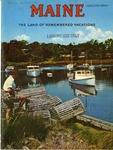 Maine The Land of Remembered Vacations, 1957 by Maine Development Commission
