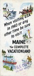 Maine The Complete Vacationland by Maine Department of Economic Development