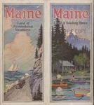 Maine The Land of Remembered Vacations, 1928 by Maine Publicity Bureau