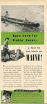 Sure Cure for Fishing Fever by Maine Development Commission and Maine Publicity Bureau