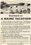 Overheard on A Maine Vacation by Maine Development Commission and Maine Publicity Bureau