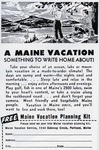 A Maine Vacation - Something to write home about by Maine Development Commission and Maine Publicity Bureau