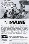 Fun for everyone on a beach in Maine by Maine Development Commission and Maine Publicity Bureau