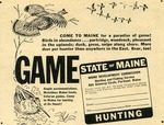State of Maine Hunting by Maine Development Commission and Maine Publicity Bureau