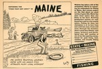 "Catching the ""Fish that got Away"" in Maine by Maine Development Commission and Maine Publicity Bureau"