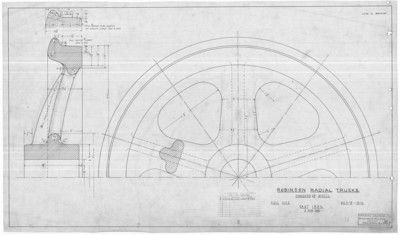 Seashore Trolley Museum Blueprint Collection New England