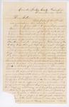Letter to Rosie True, December 15, 1860