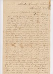 Letter to Edward and Olive True, March 3, 1861