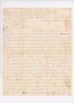 Letter to Olive True, November 11, 1861