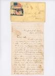 Letter to Rosie True, September 21, 1862