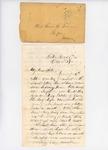 Letter to Rosie True, October 3, 1863