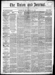 The Union and Journal: Vol. 20, No. 1 - January 01,1864