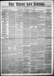 The Union and Journal: Vol. 20, No. 45 - November 04,1864
