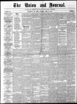 The Union and Journal: Vol. 25, No. 18 - April 26,1869