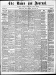 The Union and Journal: Vol. 26, No. 5 - January 21,1870
