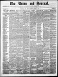 The Union and Journal: Vol. 26, No. 34 - August 12,1870