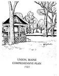 Union, Maine Comprehensive Plan 1985