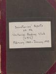 Secretaries' Reports of the Unitarian Reading Club (URC), February 1888 - January 1893 by Unitarian Reading Club of Ellsworth, Maine