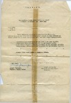 Alfred H. Washburn's Authorization to Wear the Victory Medal and Four Battle Clasps, May 27, 1919 by United States Army