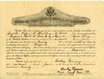 Alfred H. Washburn's Promotion to Corporal, June 16, 1920 by United States Army