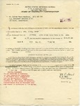 Alfred H. Washburn's Award of Disability Compensation, May 28, 1924 by United States Department of Veterans Affairs