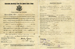 Alfred H. Washburn's Honorable Discharge, May 17, 1920 by United States Army