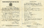 Alfred H. Washburn's Honorable Discharge, May 29, 1924 by United States Army