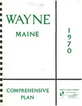 Wayne Maine Comprehensive Plan, 1970