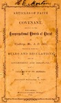 Articles of Faith and Covenant Adopted by the Congregational Church of Christ in Winthrop, ME. A.D. 1875, Together with the Rules and Regulations for its Government and Discipline with a Catalog of its Members