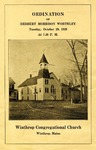 Ordination of Herbert Morrison Worthley, Tuesday, October 29, 1929 by Winthrop Congregational Church