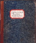 Captain Hiram Heath's Day Book, Whitefield, Maine 1833-1875